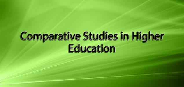 Comparative Studies in Higher Education