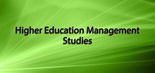 Higher Education Management Studies
