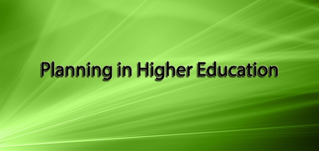 Planning in Higher Education